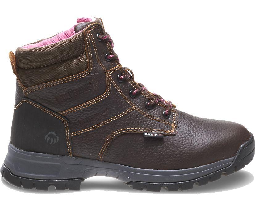"""Piper Waterproof 6"""" Work Boot, Brown, dynamic"""