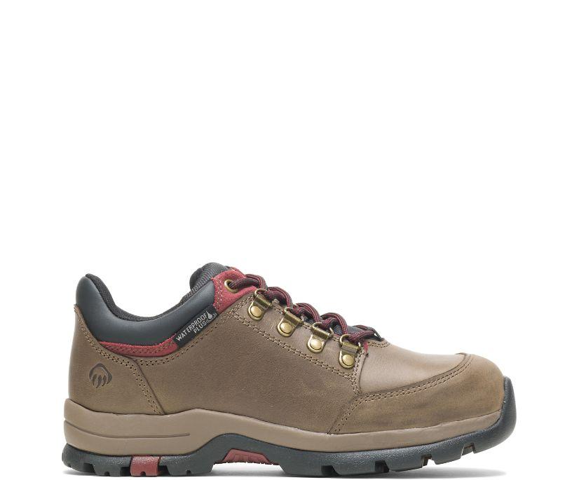 Grayson Steel Toe Shoe, Gravel, dynamic