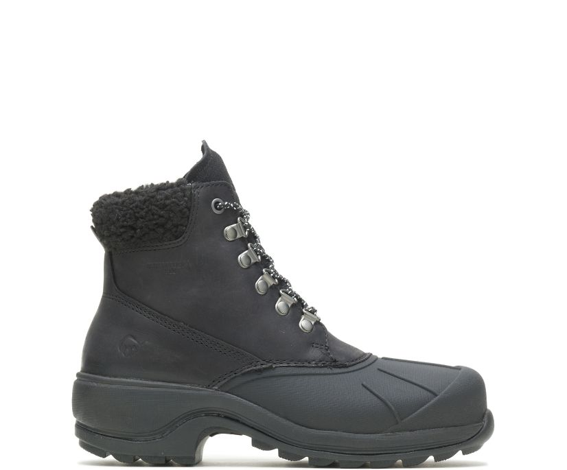 Frost Insulated Boot, Black Suede, dynamic