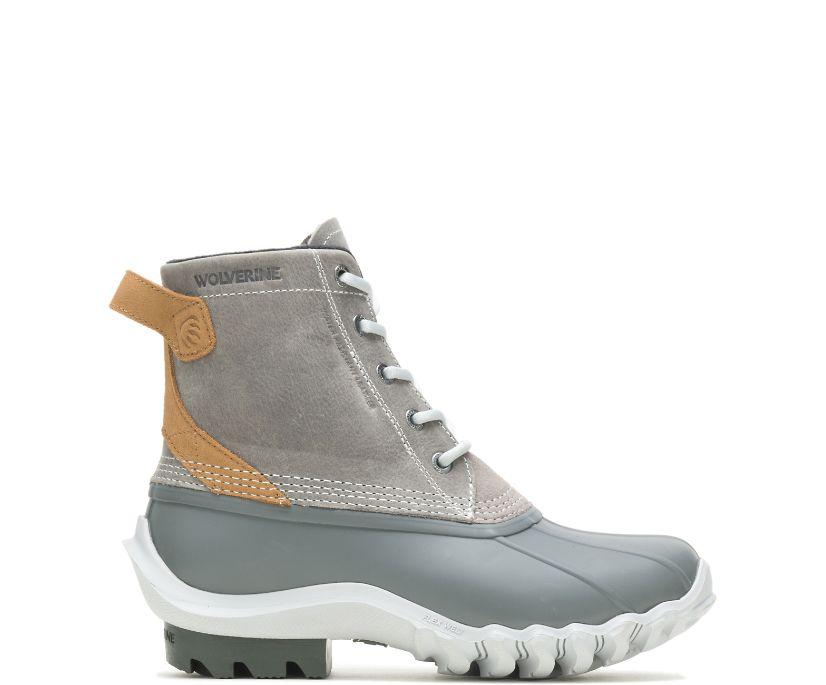 Torrent Waterproof Duck Boot, Grey, dynamic