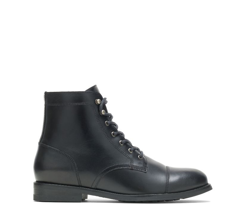 BLVD Cap-Toe Boot, Black, dynamic