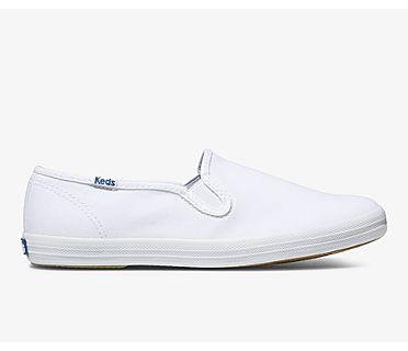 Champion Slip On, White, dynamic