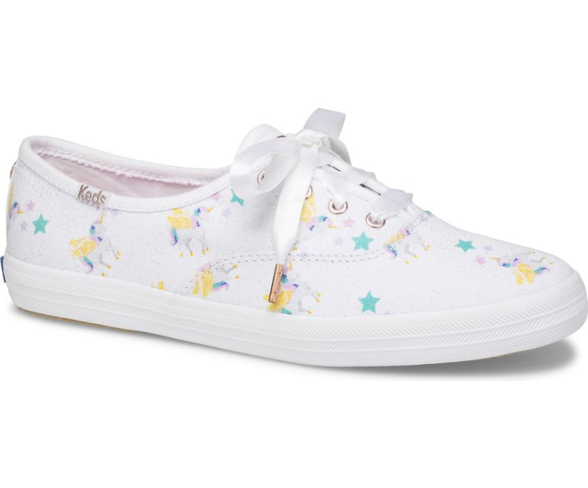 Keds x SUNNYLIFE Champion Unicorn, Unicorn, dynamic