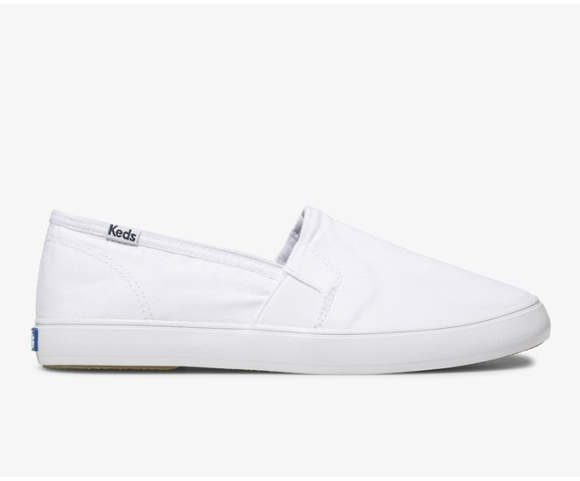 Clipper Washed Solids, White, dynamic