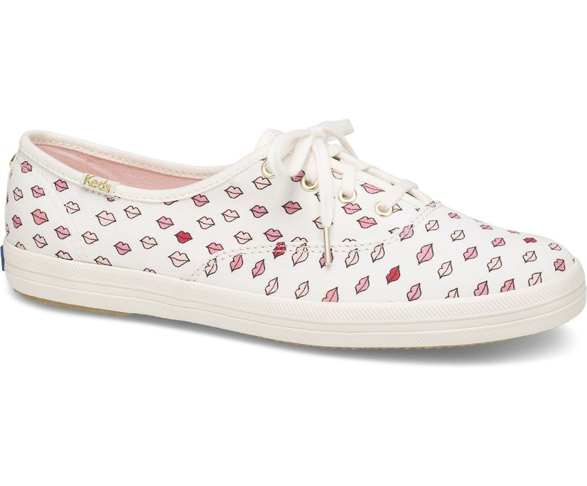 Keds x kate spade new york Champion, White Lips, dynamic
