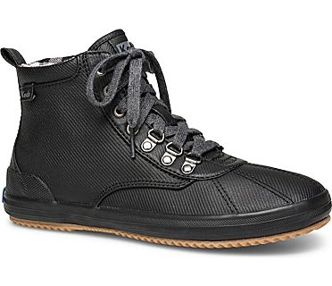 Scout Water-Resistant Boot, Black, dynamic