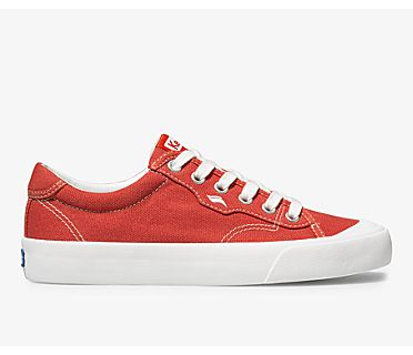 Crew Kick 75 Canvas, Red, dynamic