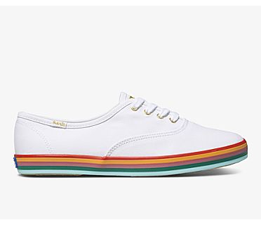 Champion Rainbow Foxing, White Multi, dynamic