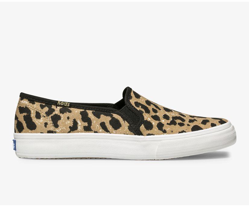 Double Decker Leopard, Tan, dynamic