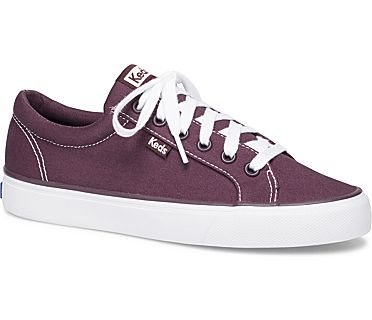 Jump Kick Twill., Burgundy, dynamic