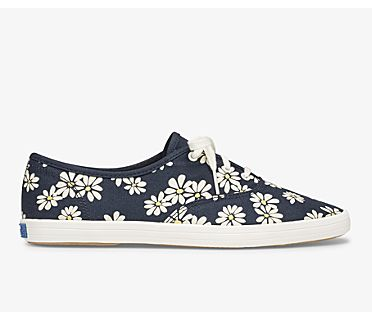 Vintage Champion Daisy Print, Navy Multi, dynamic