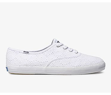 Champion Daisy Eyelet, White, dynamic