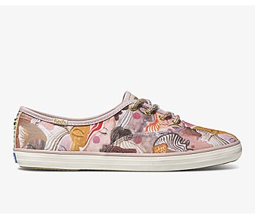 Keds x Jungalow Champion Chorus, Pink Multi, dynamic