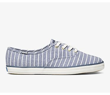 Champion Chambray Breton Stripe, Blue, dynamic