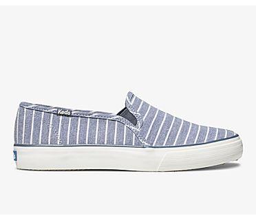 Double Decker Breton Stripe, Blue, dynamic