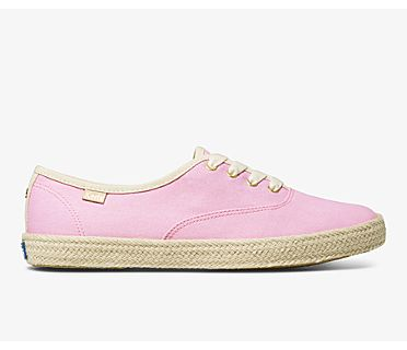 Keds x kate spade new york Champion Neon, Pink, dynamic