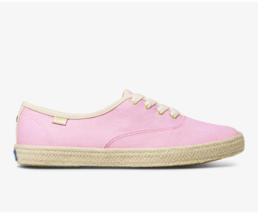 Keds x kate spade new york Champion Neon, Pink, dynamic