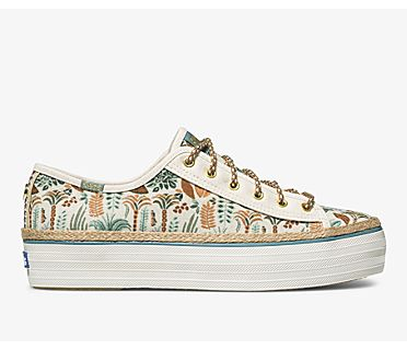 Keds x Jungalow Triple Kick Rainforest, Natural Multi, dynamic