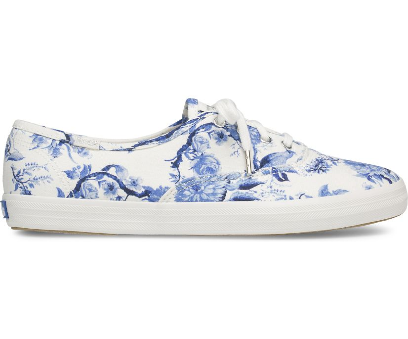 Champion Floral, White/Blue, dynamic