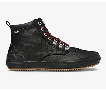 Scout Boot II Water-Resistant Canvas, Black, dynamic