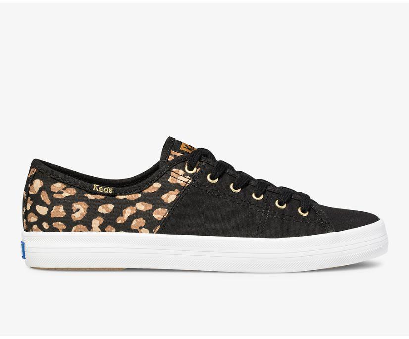 Kickstart 50/50 Leopard., Black Tan, dynamic
