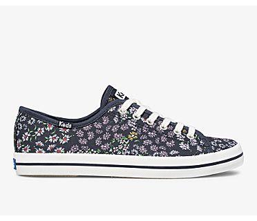 Kickstart Floral, Peacoat Navy, dynamic