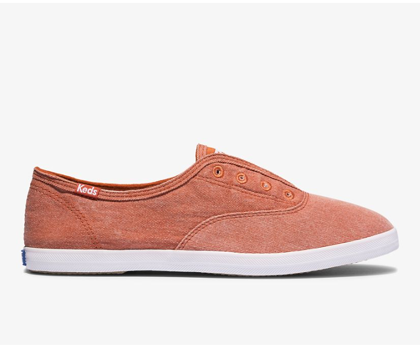 Chillax Washable Feat. Organic Cotton, Rust Red, dynamic