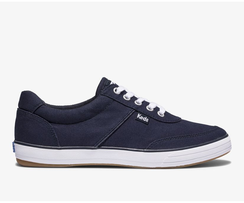Courty II Canvas, Navy, dynamic