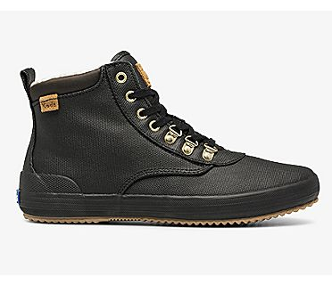 Scout Boot II Water-Resistant Canvas w/ Thinsulate™, Black, dynamic