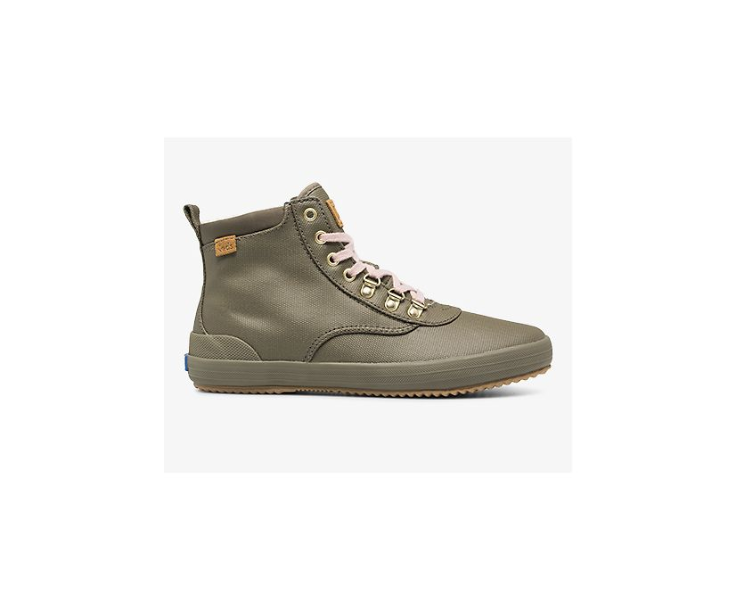 Scout Boot II Water-Resistant Canvas w/ Thinsulate™, Olive, dynamic
