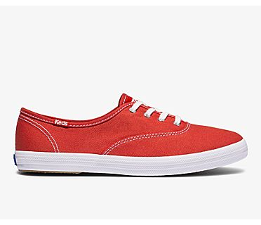 Champion Organic Cotton Canvas, Aura Red, dynamic