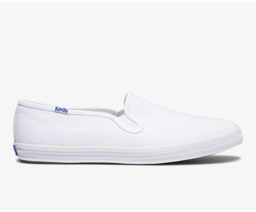 Champion Slip On Feat. Organic Cotton, White, dynamic