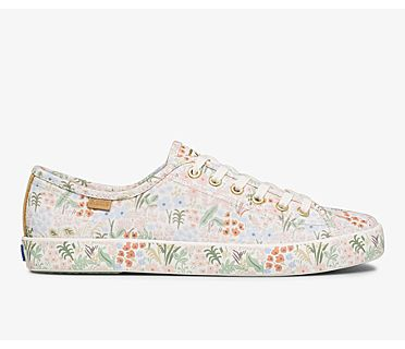Keds x Rifle Paper Co. Kickstart Meadow, Cream Multi, dynamic