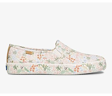 Keds x Rifle Paper Co Double Decker Meadow, Cream Multi, dynamic