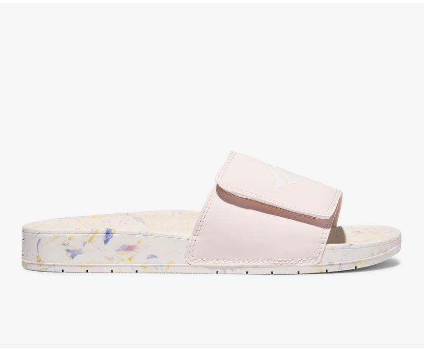 Bliss V Sandal, Cream Marble, dynamic