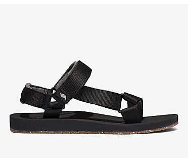 Trio Eco Sandal Tencel™, Black, dynamic