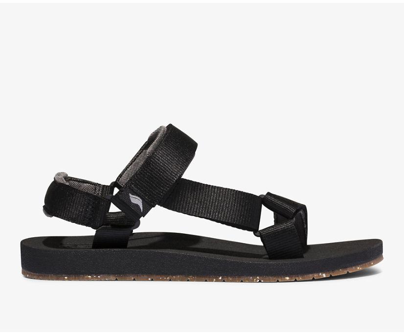 Trio Eco Sandal with Tencel™, Black, dynamic