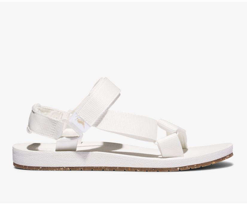 Trio Eco Sandal with Tencel™, Snow White, dynamic