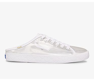 Keds x kate spade new york Kickstart Mule, Clear, dynamic