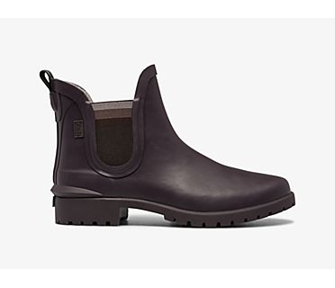 Rowan Rain Boot, Burgundy, dynamic