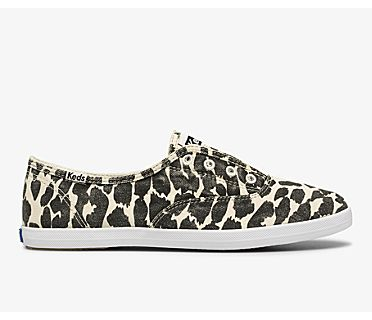 Chillax Washable Leopard Feat. Organic Cotton, Tan Black, dynamic