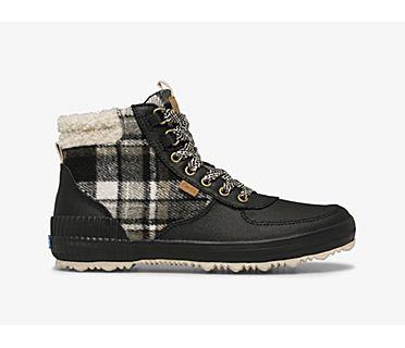 Scout Boot III Splash Twill Plaid w/ Thinsulate™, Black, dynamic