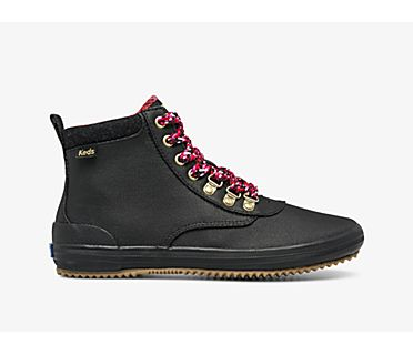 Scout Boot III Water-Resistant Canvas Wool, Black, dynamic