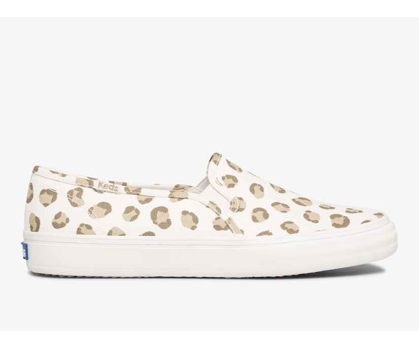 Double Decker Leopard, Ivory, dynamic