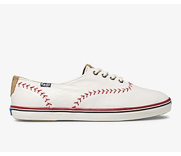 Champion Pennant Leather, Off White, dynamic