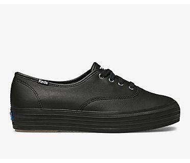 Triple Leather, Black Black, dynamic