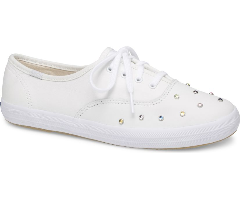 Champion Starlight Leather Stud, White, dynamic