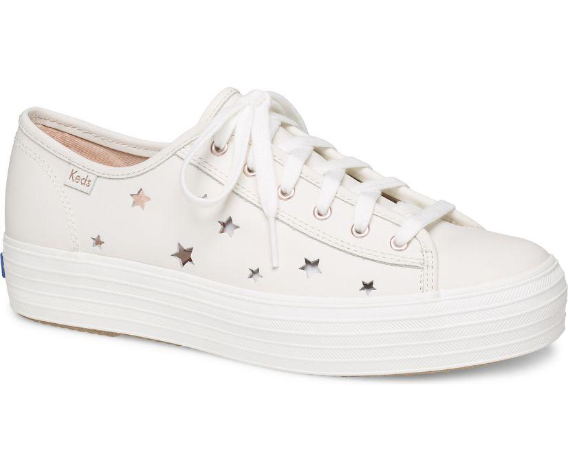 Triple Kick Star Leather, Cream, dynamic