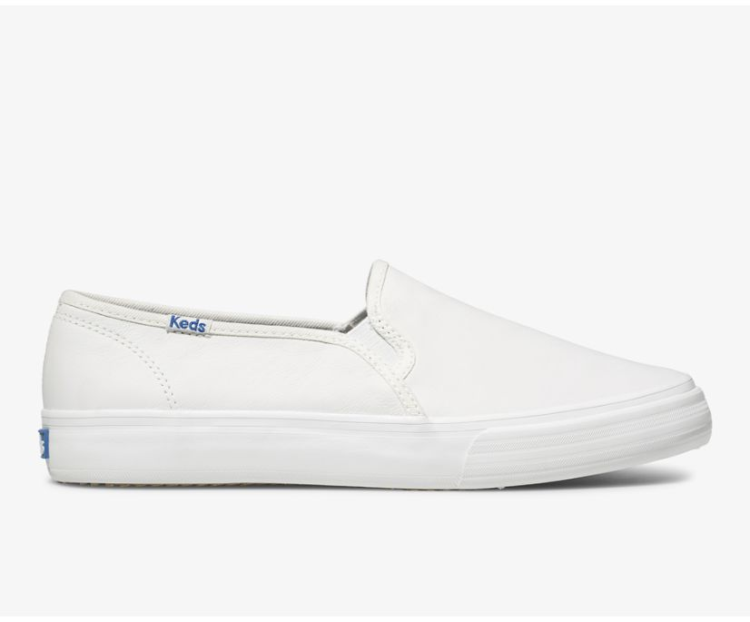 Double Decker Leather, White, dynamic