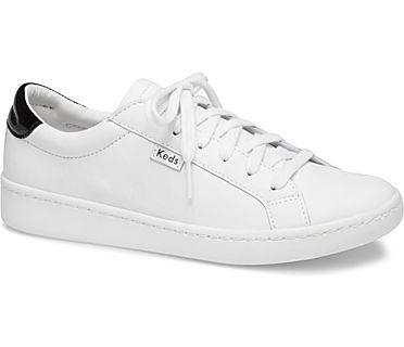 Ace Leather., White Black, dynamic